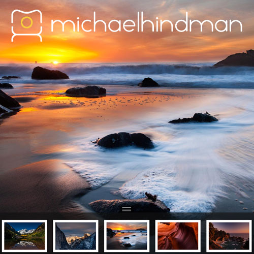 Michael Hindman Website Design